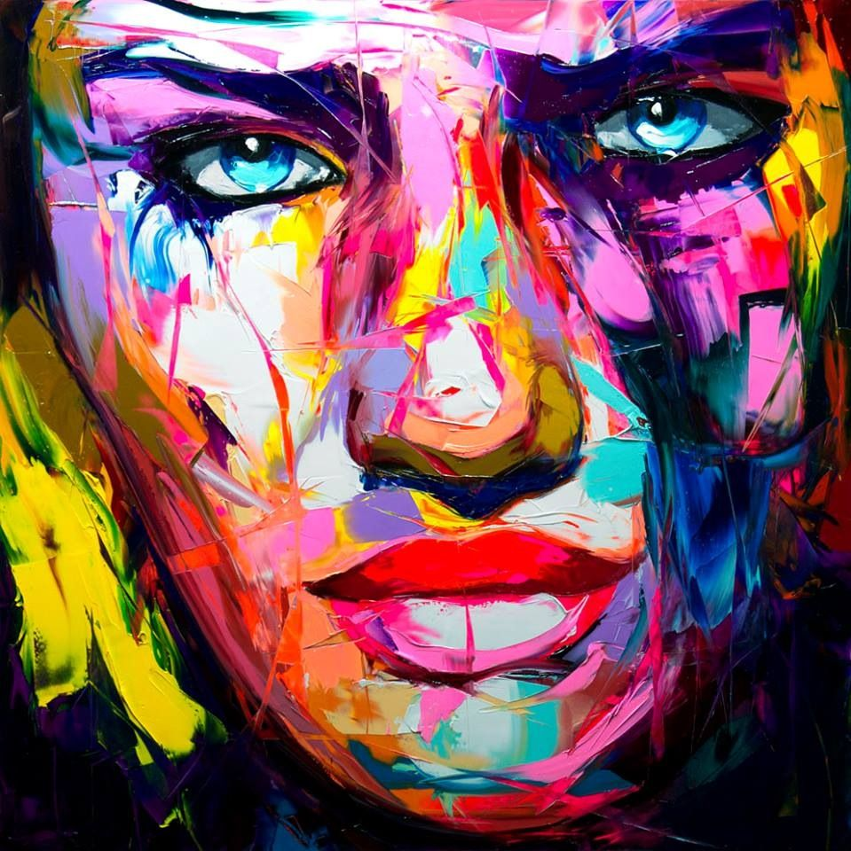 Site Des Artistes Peintres francoise nielly | abstract painting acrylic, acrylic