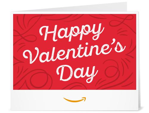 Amazon Gift Card - Print - Happy Valentine's Day | Gift ...