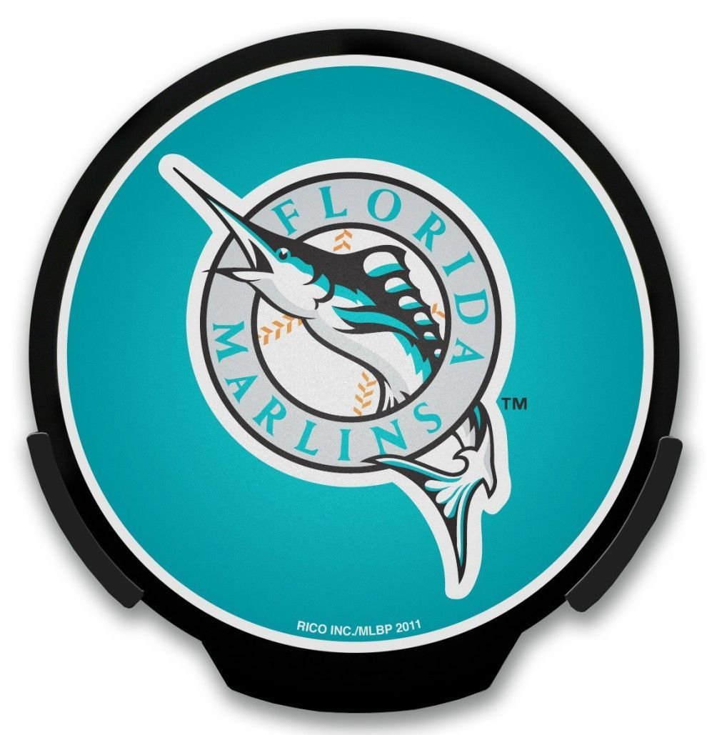 Florida Marlins Light Up POWERDECAL