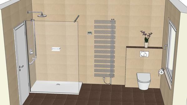 Badplanung Bodenbundige Duschwanne Bettefloor Side Und Dusch Wc
