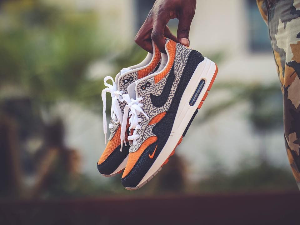61b4c88989fb Nike Air Max 1  Safari  size  Exclusive - 2018 (by supasans) Sneakers  greatly benefit from shoe trees related to care