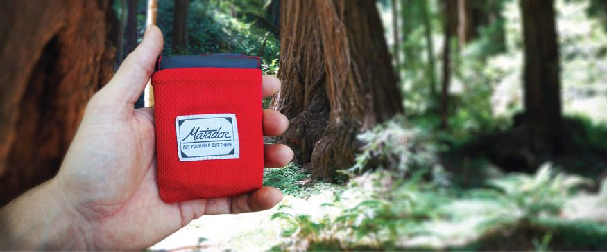 Matador Pocket Blanket - Stop sitting on your jacket!  Ultra compact, water repellent, puncture resistant, and more!
