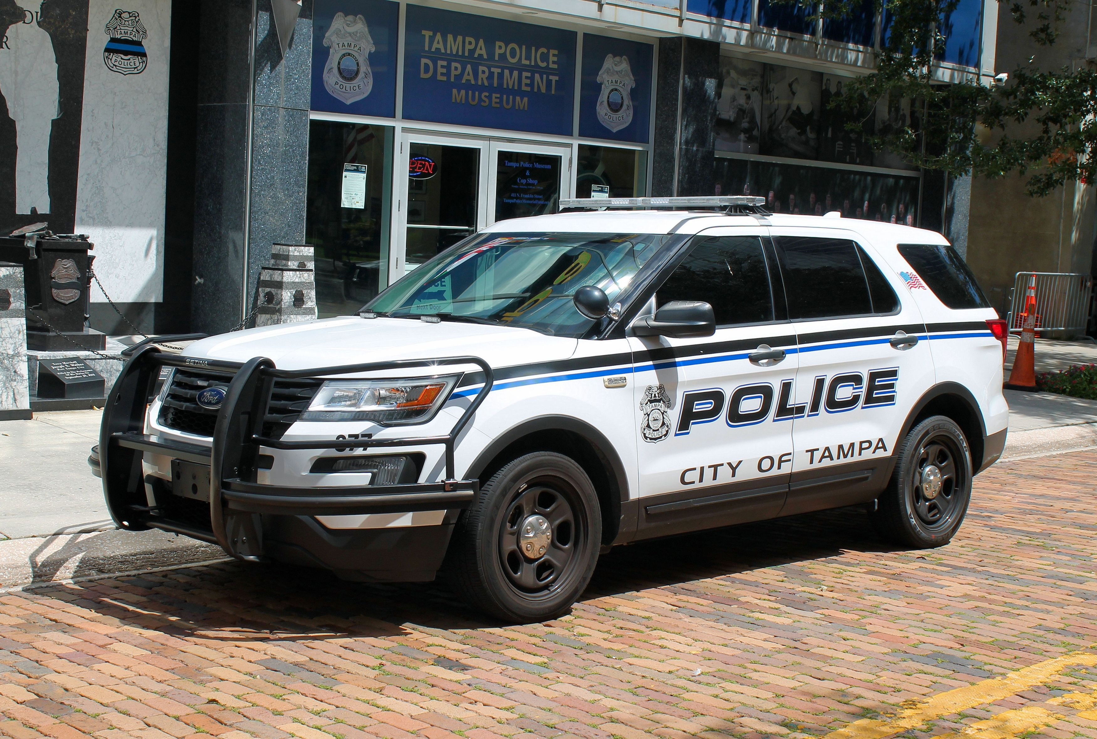 Tampa Tampa Police Department Ford Utility Interceptor Police Department Tampa Interceptor
