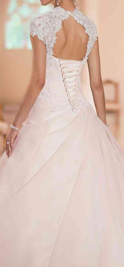 Corset Lace Back Wedding Dresses Lace Wedding Dresses Keyhole