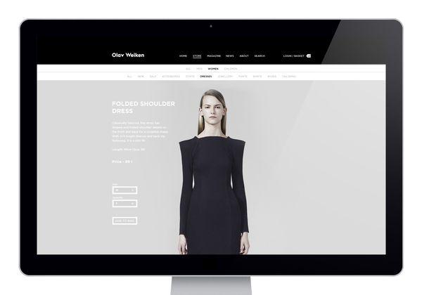 Olav Weiken - online fashion store   Design: UI/UX. Apps. Websites   Thorbjørn Gudnason  