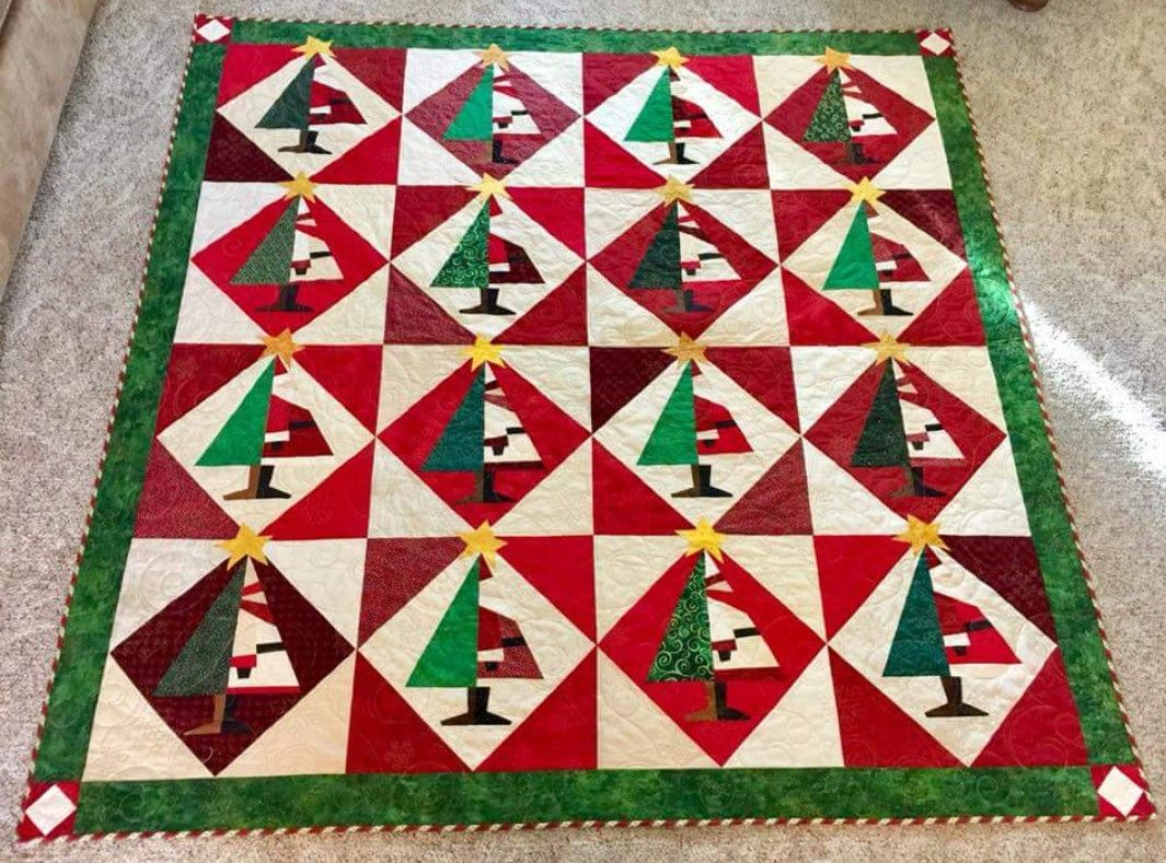 Barbara Zelenka Spinks Santa Baby Quilt By Buggy Barn Quilts