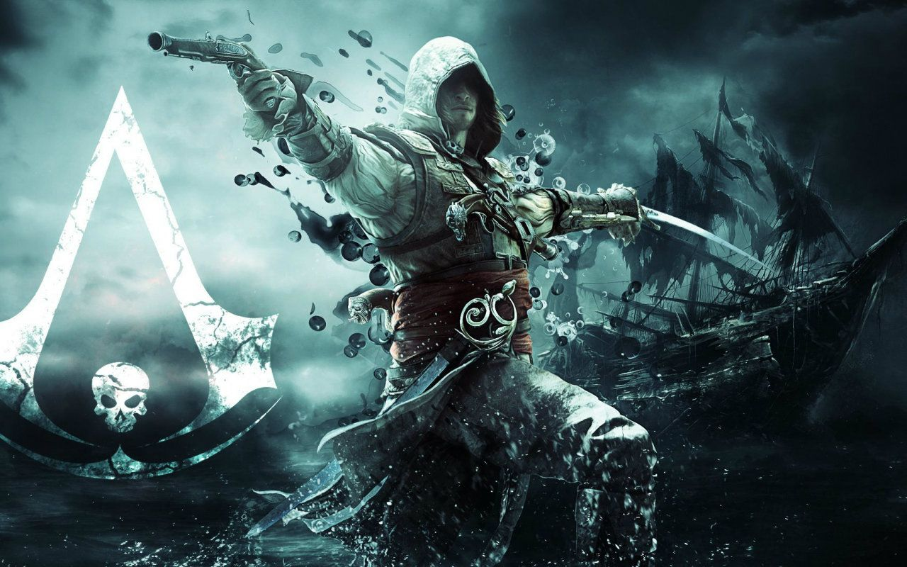 Full Hd P Games Wallpapers Desktop Backgrounds Hd Pictures 1920 1080 Gaming Desk Assassins Creed Black Flag Assassin S Creed Black Assassin S Creed Wallpaper