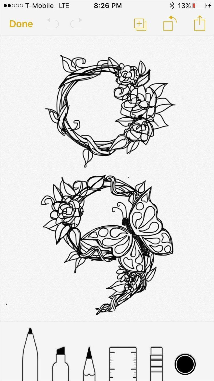 Photo of #Tattoo Someone asked if I could draw this with a butterfly. I … –  #Tattoo So…