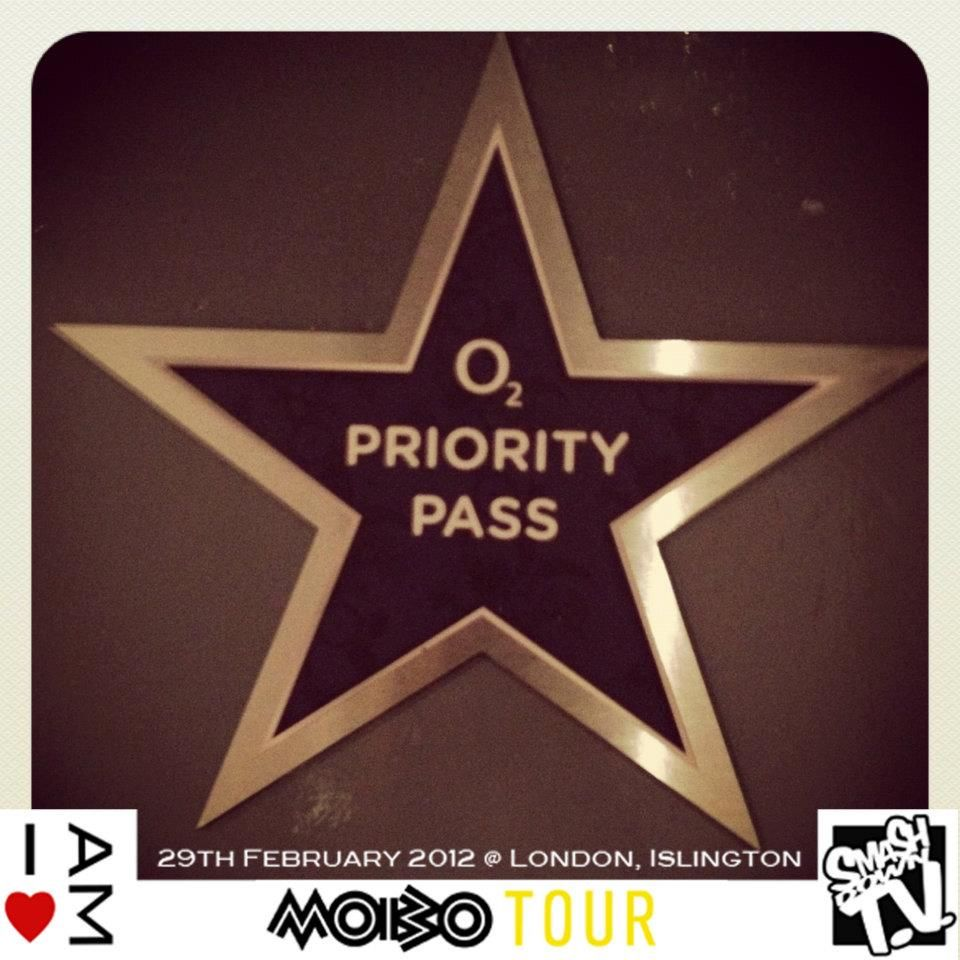 Smash Down TV backstage at the Mobo Tour 2012 at The o2 Academy, Islington, London