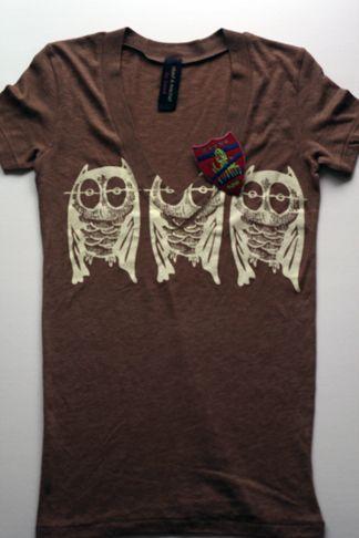 Owls x 3