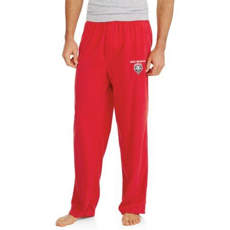 Ncaa New Mexico Homeland Big Men's Solid Fleece Pant, Size: 2XL, Red
