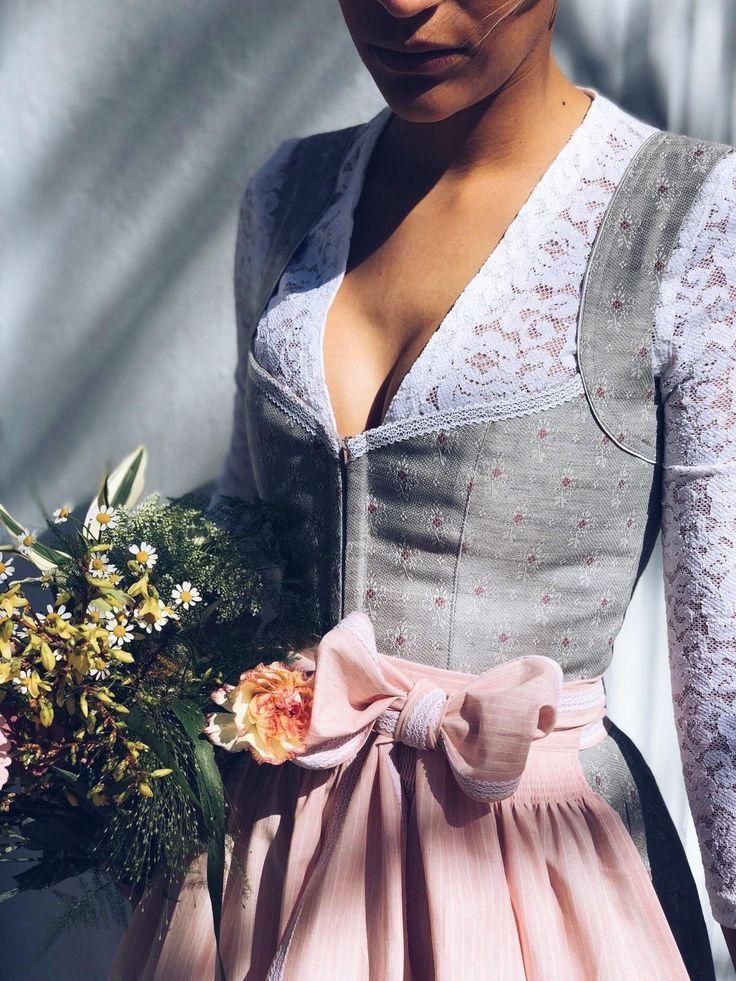 Dirndl Annelie Pink Slate – Sommer Mode Ideen