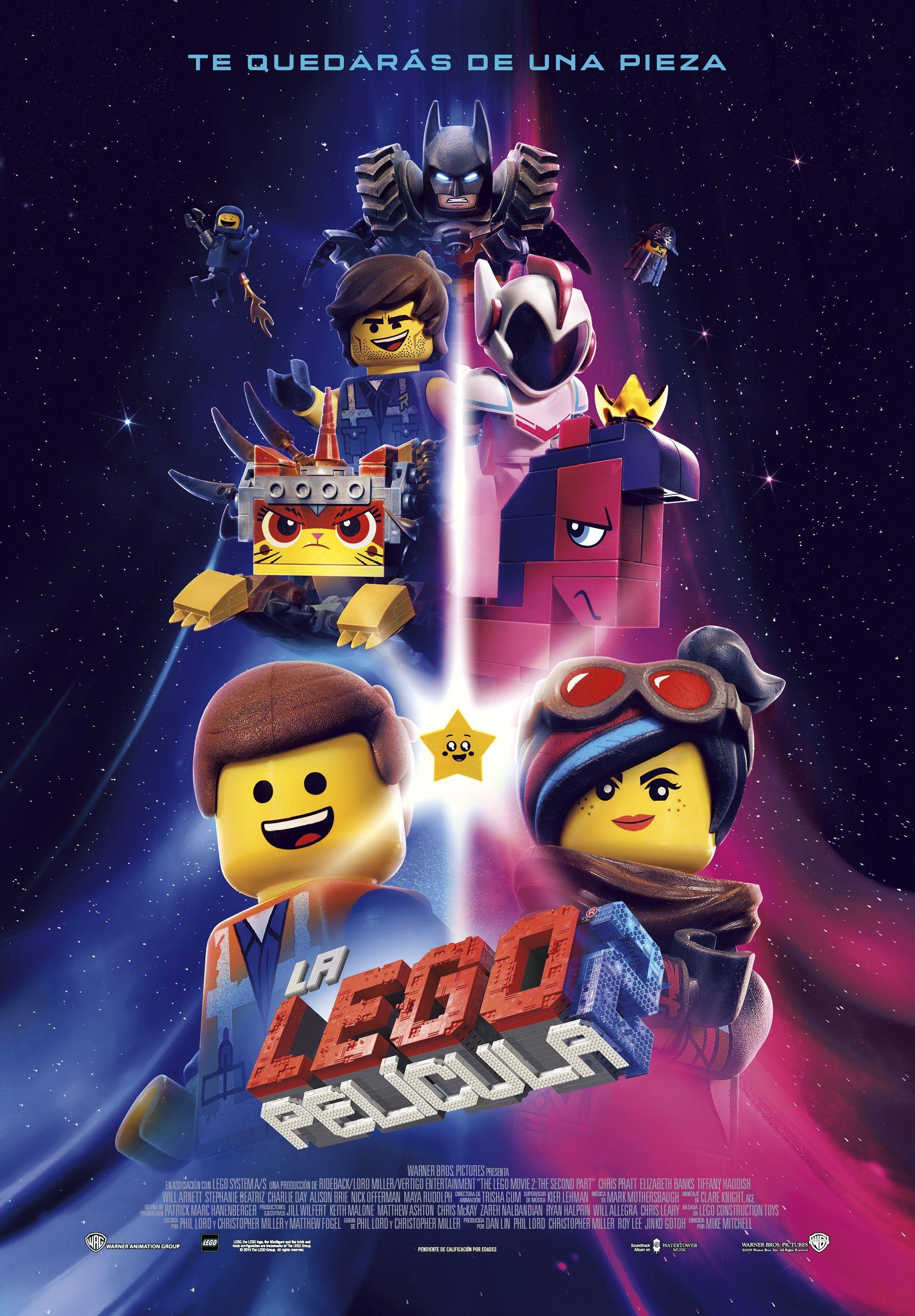 Resultado de imagen de LEGO 2 LA PELICULA AFICHE