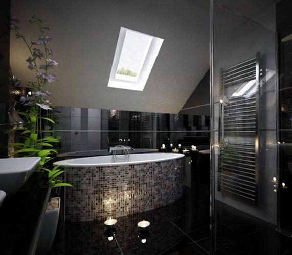 Our Black Sparkle Bathroom Floor Tiles Ideas Below Will Help You Make The Right Choice Description From Til Beautiful Bathrooms Glitter Bathroom Sparkle Tiles