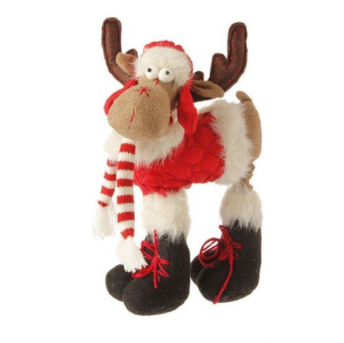 RAZ Imports 105 Decorative Christmas Moose -- Find out more about
