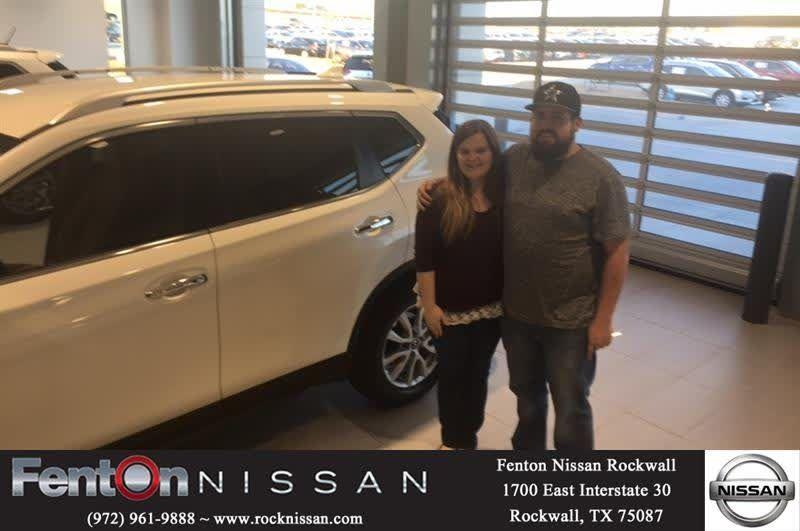 Congratulations Melinda on your #Nissan #Rogue from Reco Edwards at Fenton Nissan of Rockwall!  https://deliverymaxx.com/DealerReviews.aspx?DealerCode=V432  #FentonNissanofRockwall