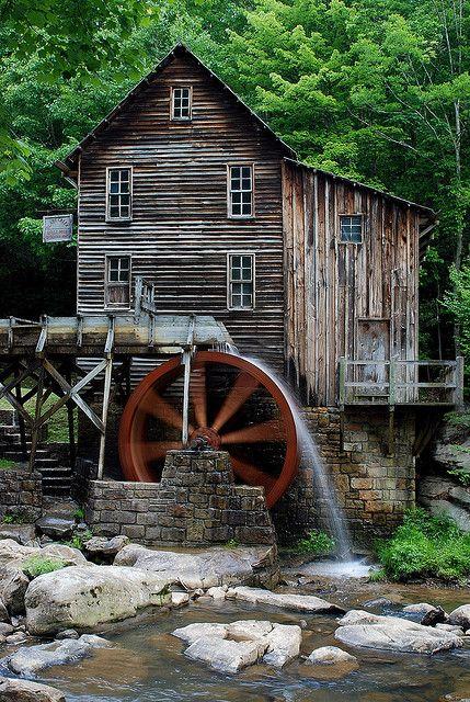 Blade Creek Grist Mill, West Virginia