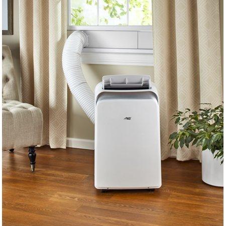 Arctic King 8 000 Btu 12 000 Btu Ashrae 115v Smart Portable Air Conditioner Gray Wppd08cw0n Walmart Com Portable Air Conditioner Room Air Conditioner Air Conditioner With Heater