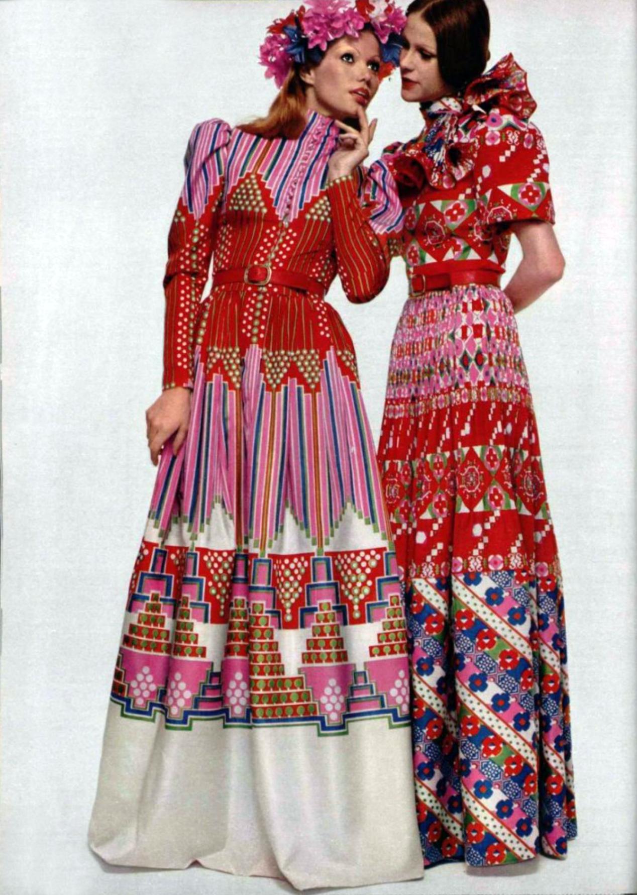 Fashion Do S: Vintage Fashion By Lanvin 1970's