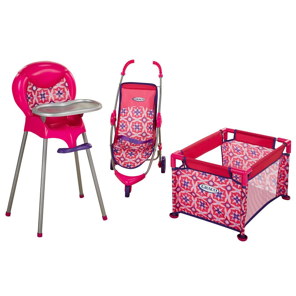 Graco Room Full Of Fun Baby Doll Playset Tolly Tots