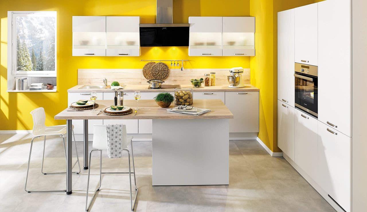 classica12 einbauküche satin   Idée déco cuisine, Cuisine design ...