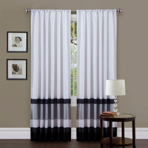 84 Inch By 54 Inch Panel Tieback Included Iman Curtain Panel