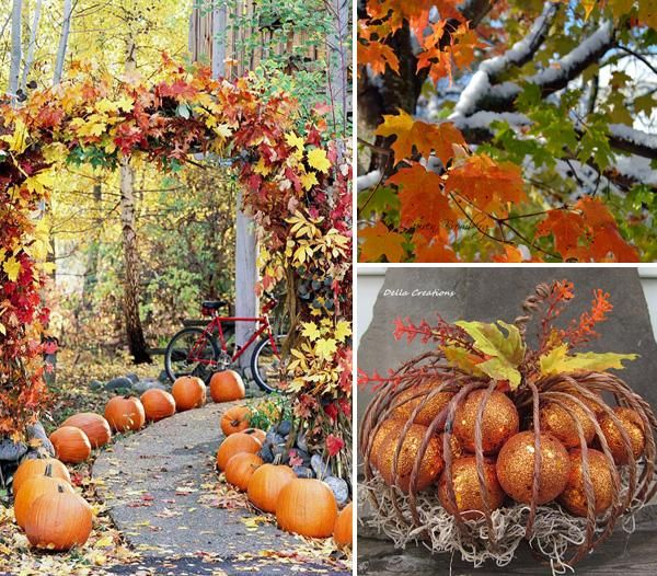IDEAS  INSPIRATIONS Outdoor Decor For Fall - Outdoor Halloween