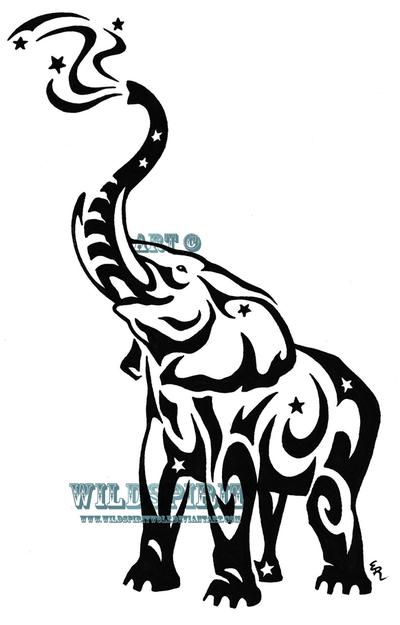 Pin By Suzie Beardslee On Tattoos Elephant Tattoo Tribal Tribal Elephant Elephant Tattoo Design