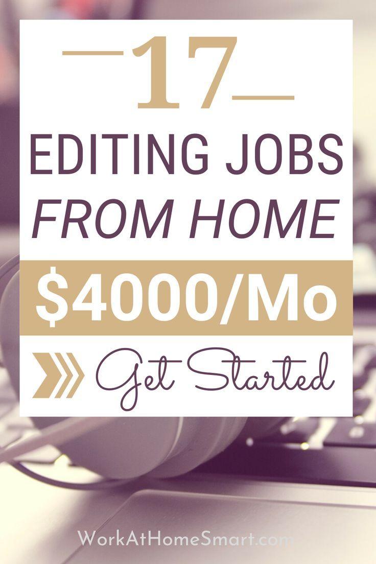 17 Online Editing Jobs 2020 The Best Freelance Editing Jobs Online Editing Jobs Editing Jobs Freelance Editing Jobs