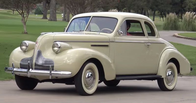1939 Buick Special Series 40 Business Coupe With Images Buick Buick Cars