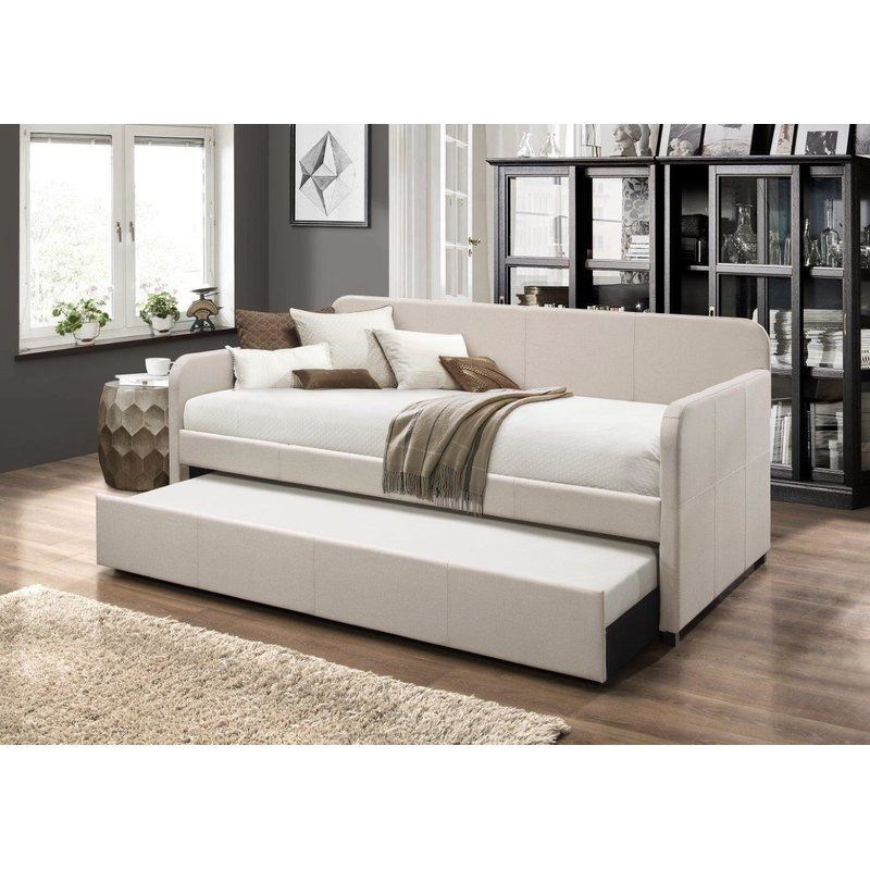 Plunkett Twin Daybed With Trundle Daybed With Trundle Twin