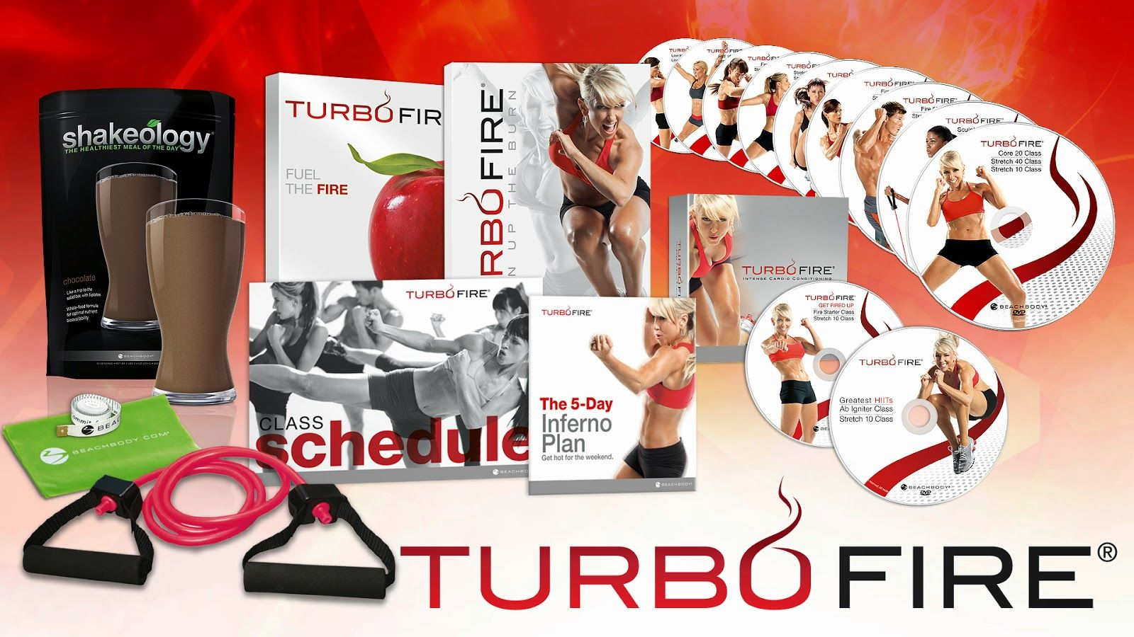 TurboFire at home workout program is super fun and uses HIIT and cardio