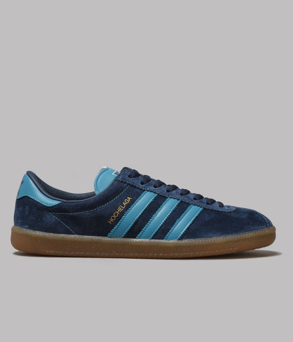 adidas Originals Hochelaga SPZL: Blue/Navy