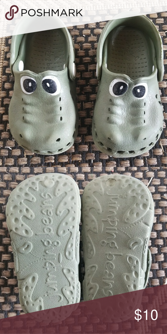 5e0b8d084 Crocodile Crocs Crocodile Croc style shoes! Toddler or child size 5. Great  used condition