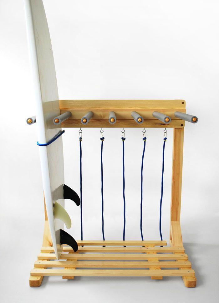 surfboard racks st nder surfen und diy und selbermachen. Black Bedroom Furniture Sets. Home Design Ideas