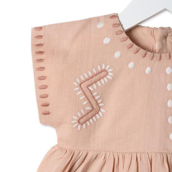 Kleid Ines in der Farbe Pfirsich | Babymode | Pinterest | Baby, Kind ...