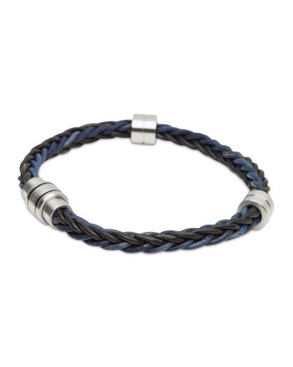 640449e69 Ted Baker Block Two-Tone Woven Bracelet