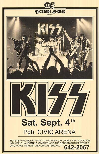 Kiss Poster Concert Posters Poster Frame Framed Poster Print