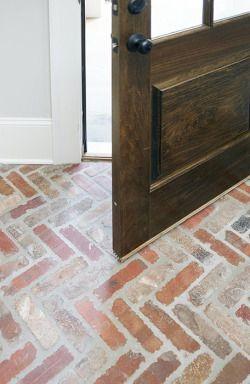 How To Clean Old Brick Floors Brick Flooring Flooring Bedroom Flooring