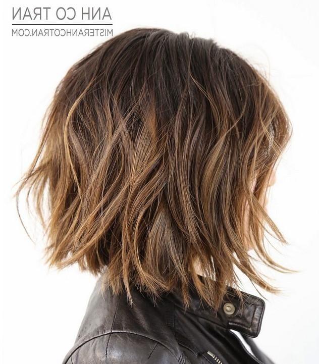 Am Besten Mittlerer Länge Bob Frisuren Für Dicke Haare Machen Sie