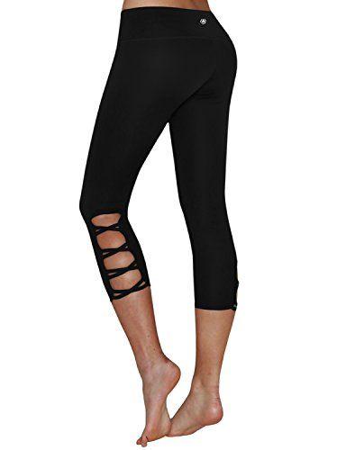 Yoga Reflex Womens Active Running Yoga Workout CrisscrossSide ...