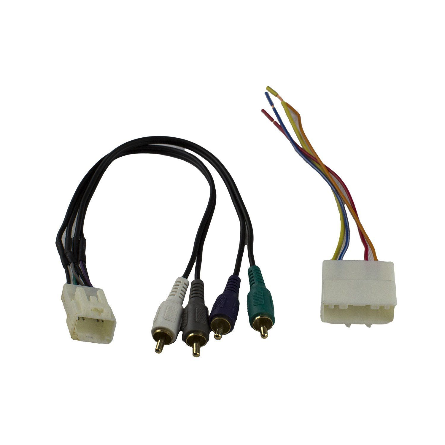 Novosonics Nnf 7554 Wiring Harness For Nissan 2007 Up Subaru 2008 Connectors Connect An Aftermarket Stereo To Your Car No Cutting Existing Required