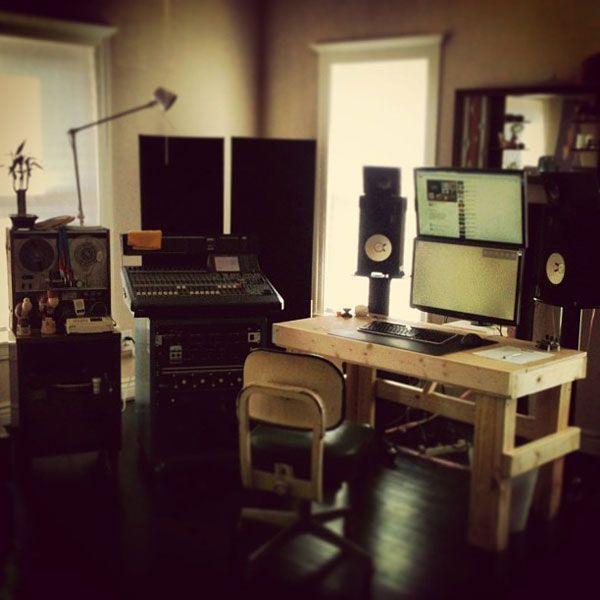 Самые крутые домашние студии звукозаписи… (20 фото ...