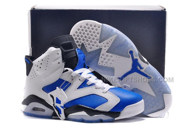 Air Jordan 6 Mens basketball shoe - White/Blue/Red | Air Jordan 6 |  Pinterest | Air jordan
