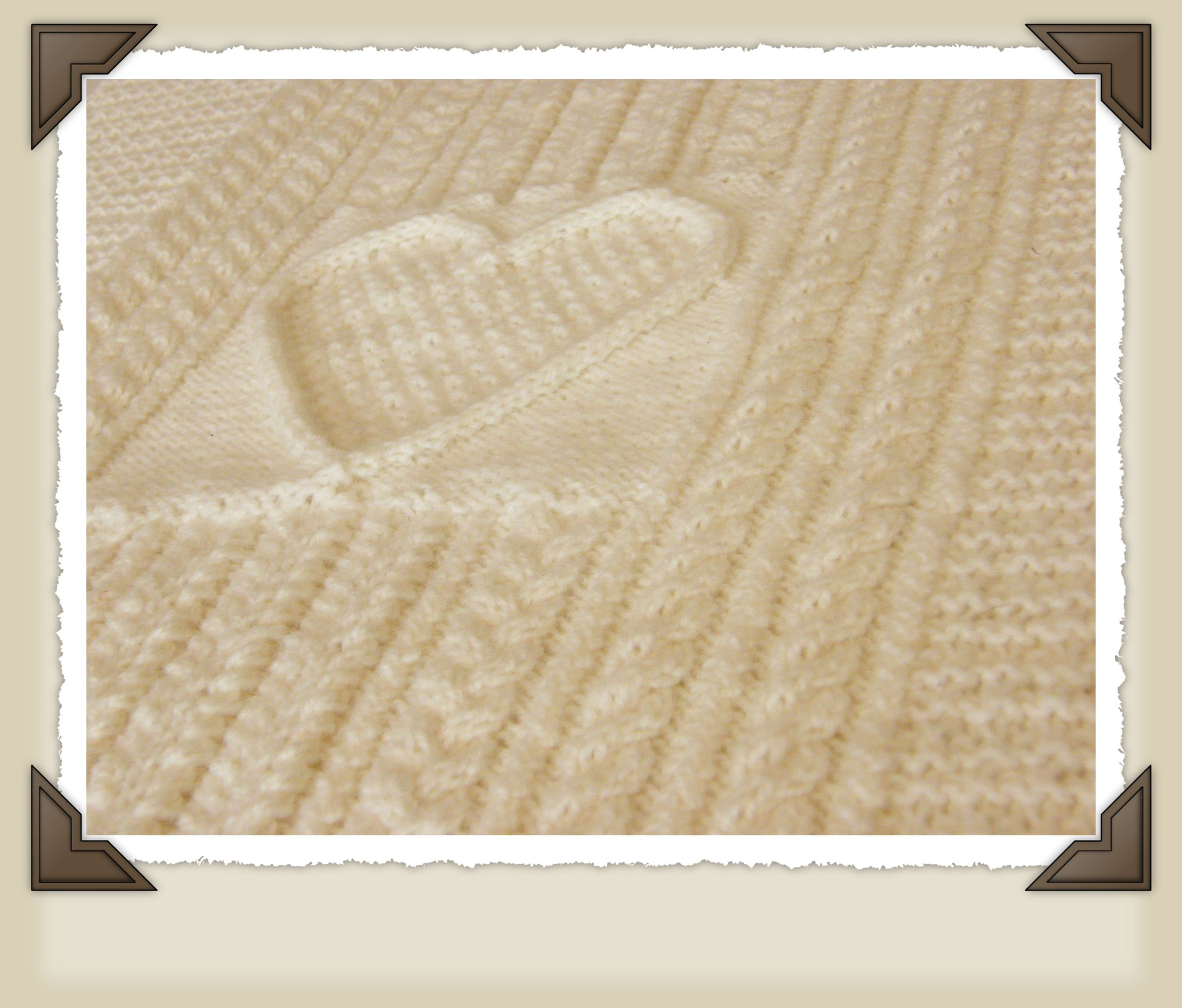 New ps pattern cridhe irish heartbeat baby blanket knitting new ps pattern cridhe irish heartbeat baby blanket bankloansurffo Image collections
