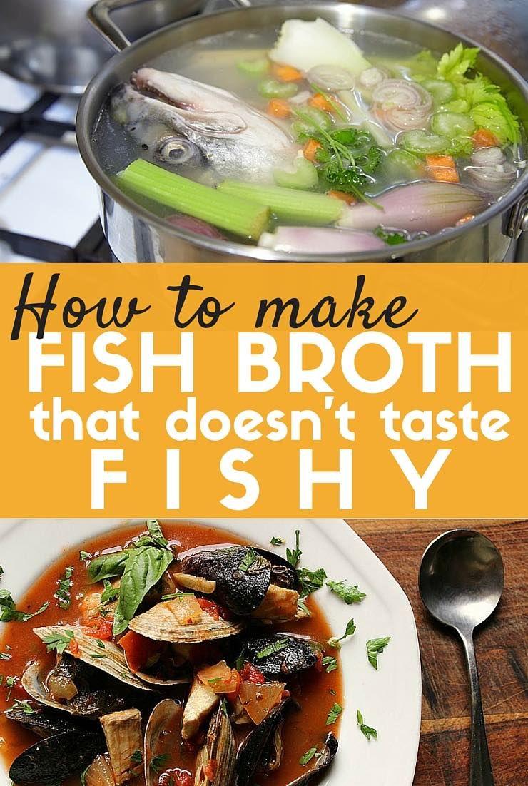 Fish Bone Broth Recipe Frugal And Fish