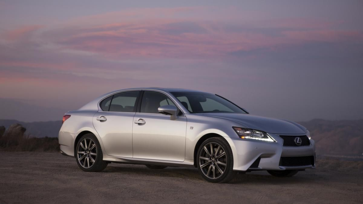 2015 Lexus GS 350 F Sport BASE PRICE 51,775 AS TESTED