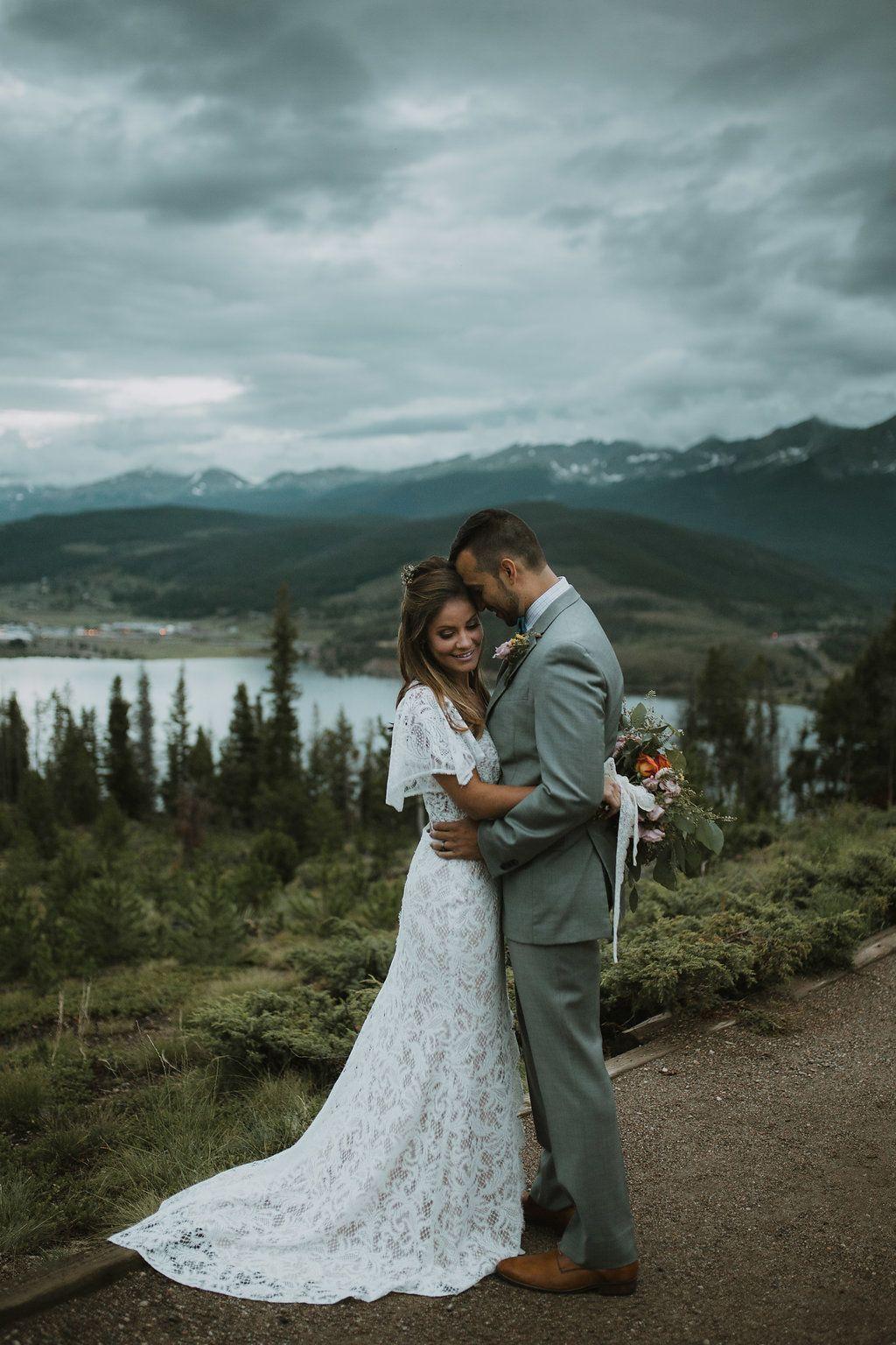 Moody Rocky Mountain Wedding Inspiration Modern Bohemian