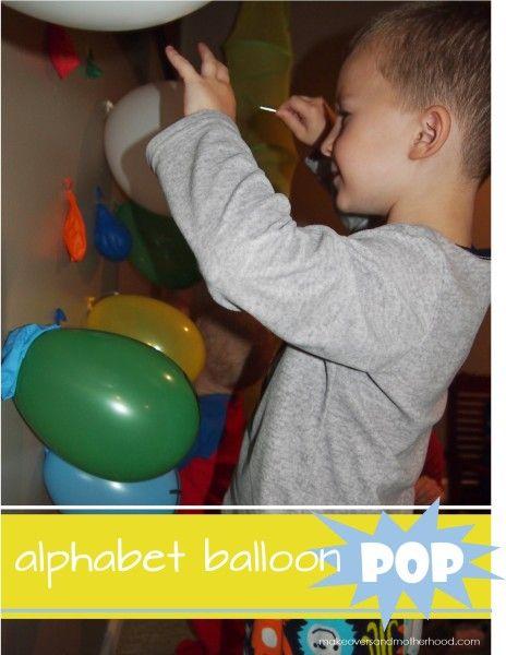 Alphabet Balloon Pop