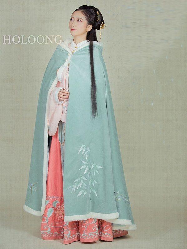 0aca8ba81 Ancient china clothing Women Hanfu Chinese Cloak in 2019 ...
